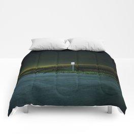 Landing Patterns Comforters
