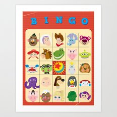 bingo! Art Print