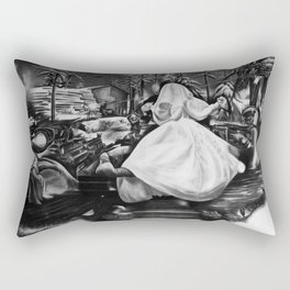 Untitled 7 Rectangular Pillow