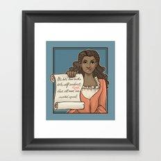 Fixed It Framed Art Print