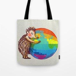Love from Hedgehog Tote Bag