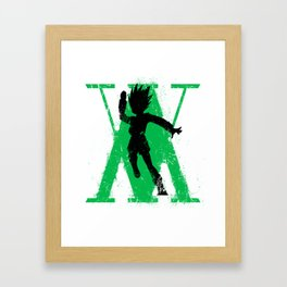 Hunter x Hunter Gon Freecss Framed Art Print