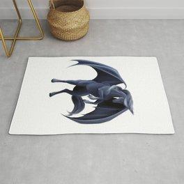 Dark pegasus Rug