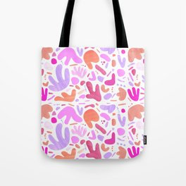 Abstract Collage Tote Bag