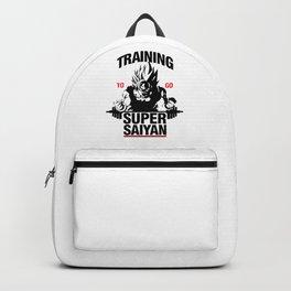 Training to go Super Saiyan Backpack