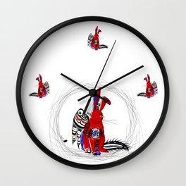 Nanabozho Wall Clock