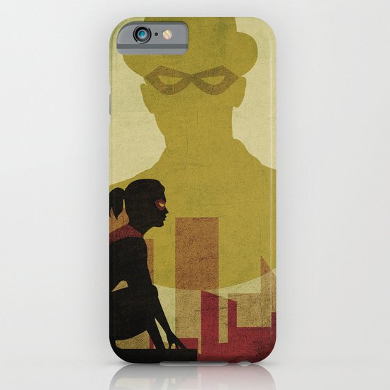 Who is the man in the bowler? Superheroes SF iPhone & iPod Case