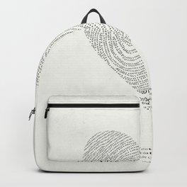 Coded heartprint Backpack