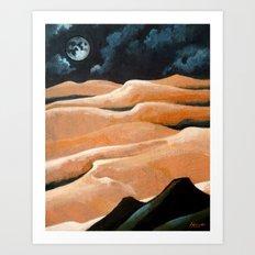 Desert Living Art Print