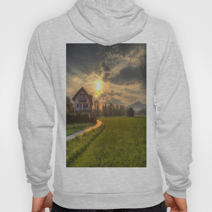 Saint Lorenz Austrian Alps Sunset Hoody