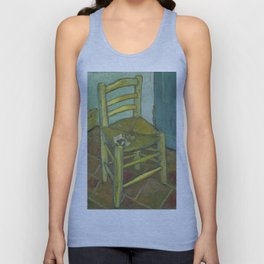 Van Gogh's Chair Unisex Tank Top