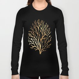 Gold Coral Long Sleeve T-shirt