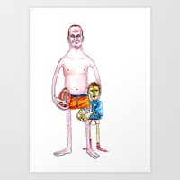 The Brothers Manning. Art Print