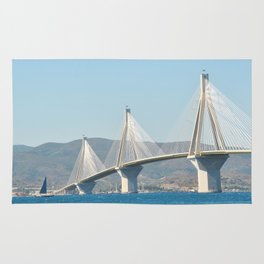 Rio Antirrio Bridge Rug