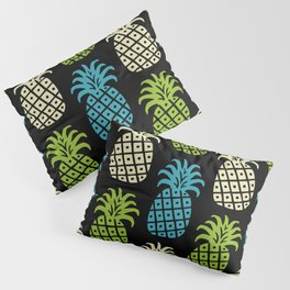 Retro Mid Century Modern Pineapple Pattern 81 Pillow Sham
