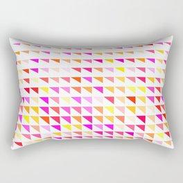 fete triangle pattern Rectangular Pillow