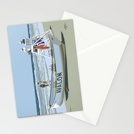 Avalon, Cooler by a Mile Stationery Cards
