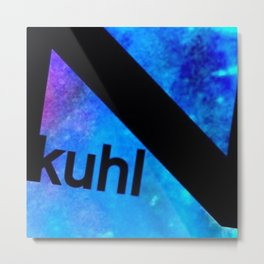 Kuhl Blue K Metal Print