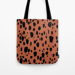 Earth Cheetah Animal Print Tote Bag