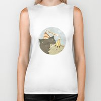 birthday Biker Tanks featuring Birthday Party by Judith Loske