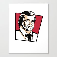 Colonel George Canvas Print
