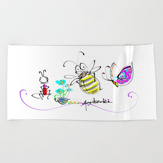 design 12 Beach Towel