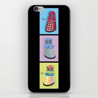 dalek iPhone & iPod Skins featuring Dalek Dreams by Megs stuff...
