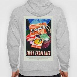 Vintage 51 Pegasi b First Exoplanet Travel Hoody