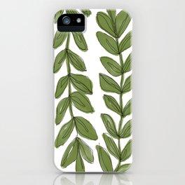 thru the vines iPhone Case