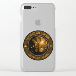 Hypnotzd Disco Clear iPhone Case