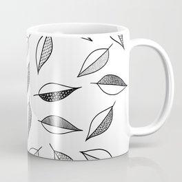 Leaves Pattern Design Coffee Mug