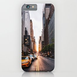 Manhattanhenge, 2018.05.30 iPhone Case