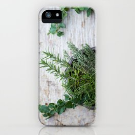 Fresh Herbs iPhone Case