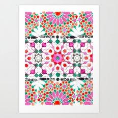 Pink Moorish Art Print