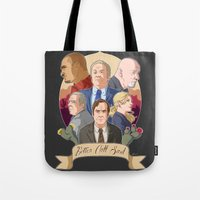 better call saul Tote Bags featuring Better Call Saul by NessaSan
