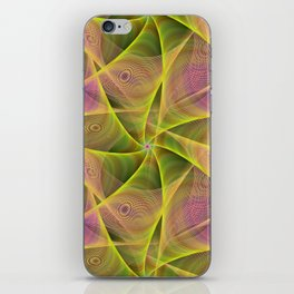 Fractal veils iPhone Skin
