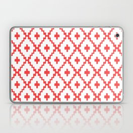 Navajo Diamonds Red Laptop & iPad Skin