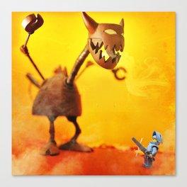 Steam Powered Dragon Canvas Print