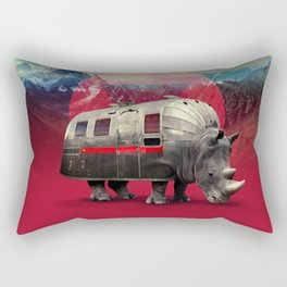 Rhino Rectangular Pillow
