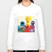 sesame street Long Sleeve T-shirts featuring Sesame by Glen Gould