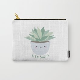 Life Succs Carry-All Pouch