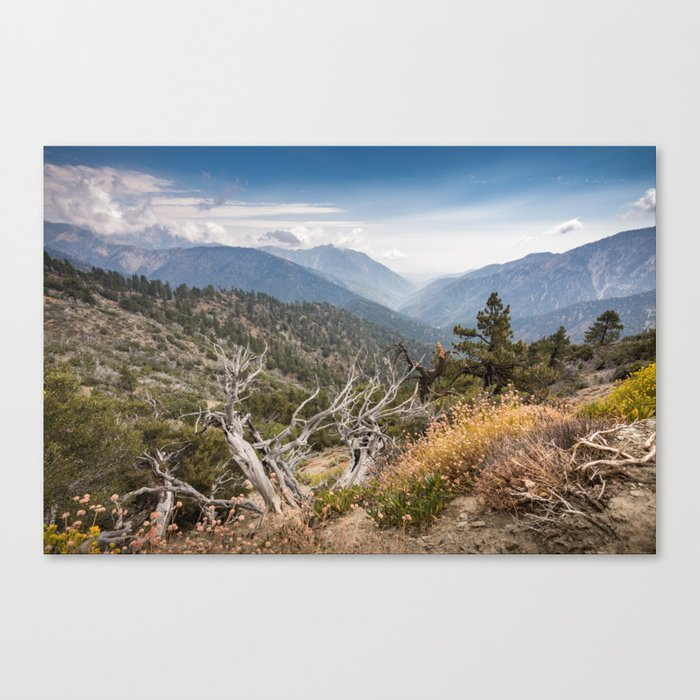 Inspiration Point along Pacific Crest Trail Canvas Print