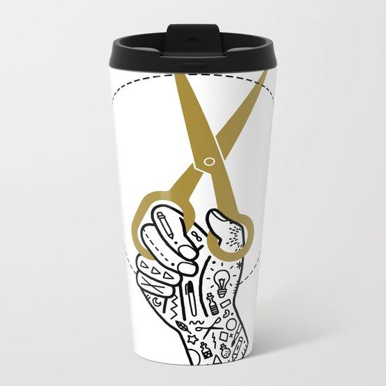 Create Metal Travel Mug