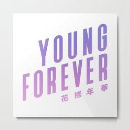 bts bangtan boys forever young Metal Print
