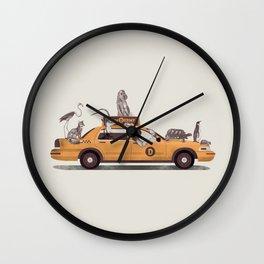 1-800-TAXIDERMY Wall Clock