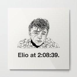 Elio Metal Print