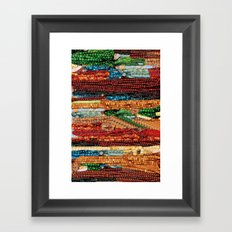 Indian Colors Too Framed Art Print
