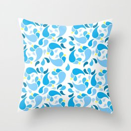 Signs of Summer Throw Pillow