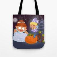 cinderella Tote Bags featuring Cinderella by Alapapaju
