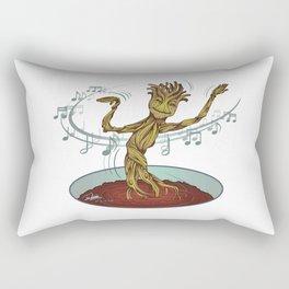 Guardians of the Galaxy - Dancing Baby GROOT Rectangular Pillow